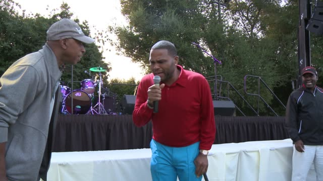 Anthony Anderson Cedric The Entertainer Gary Valentine at The 8th Annual George Lopez Celebrity Golf Classic Presented by Sabra Salsa in Los Angeles...
