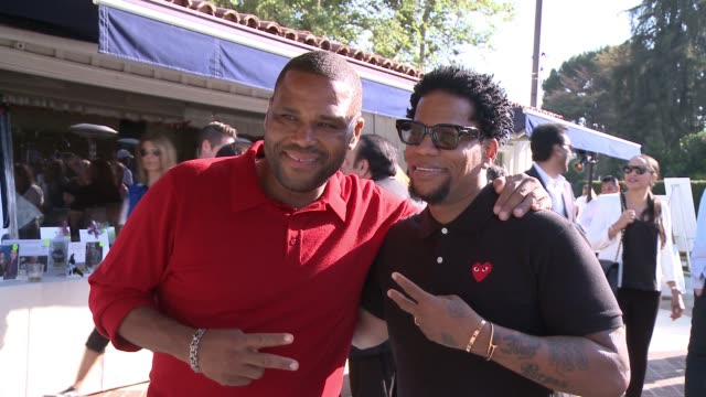 anthony anderson, d. l. hughley at the 8th annual george lopez celebrity golf classic presented by sabra salsa in los angeles, ca 5/4/15 - anthony anderson stock videos & royalty-free footage