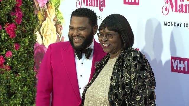 anthony anderson, doris hancox at vh1 dear mama: a love letter to mom premieres monday, may 6th at 10pm et/pt on vh1 in los angeles, ca 5/2/19 - anthony anderson stock videos & royalty-free footage
