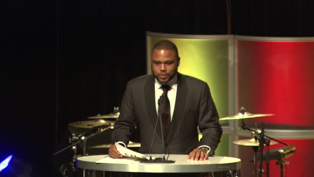 anthony anderson on the event at the 4th annual rock the kasbah fundraising event supporting the work of virgin unite and the eve branson foundation... - anthony anderson stock videos & royalty-free footage