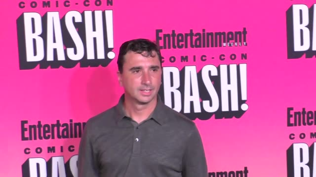 anthony c. ferrante at entertainment weekly hosts annual comic-con celebration at float at hard rock hotel san diego on july 23, 2016 in san diego,... - ハードロックカフェ点の映像素材/bロール