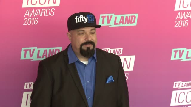 anthony campos at 2016 tv land icon awards at barker hangar on april 10 2016 in santa monica california - tv land awards stock videos and b-roll footage