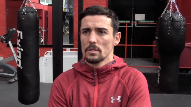 Anthony Crolla prepares for his WBA and WBO lightweight title fight against Vasyl Lomachenko on April 12 at the Staples Center in Los Angeles