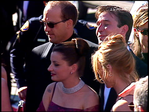 anthony edwards at the 1996 emmy awards arrivals at the pasadena civic auditorium in pasadena, california on september 8, 1996. - pasadena civic auditorium stock videos & royalty-free footage