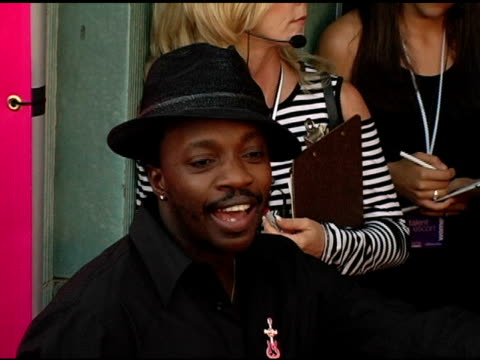 anthony hamilton at the 5th annual women rock concert at the wiltern theater in los angeles california on september 28 2004 - wiltern theater stock videos and b-roll footage