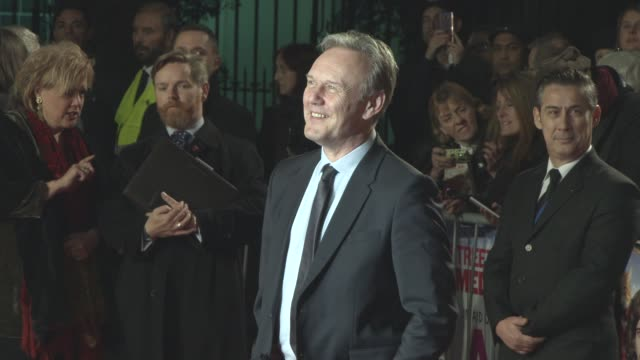 Anthony Head at 'A Street Cat Named Bob' World Premiere at The Curzon Mayfair on November 3 2016 in London England