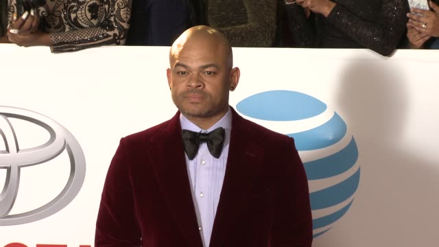 anthony hemingway at the 49th naacp image awards at pasadena civic auditorium on january 15, 2018 in pasadena, california. - pasadena civic auditorium stock videos & royalty-free footage