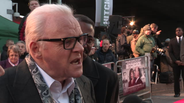 Anthony Hopkins at 'Hitchcock' UK Premiere at BFI Southbank on December 09 2012 in London England