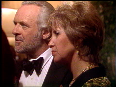 Anthony Hopkins at the 1992 Golden Globe Awards at the Beverly Hilton in Beverly Hills California on January 18 1992