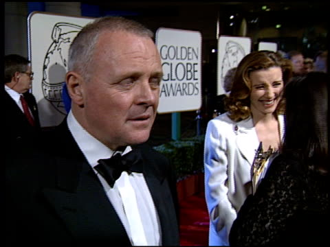 Anthony Hopkins at the 1994 Golden Globe Awards at the Beverly Hilton in Beverly Hills California on January 22 1994