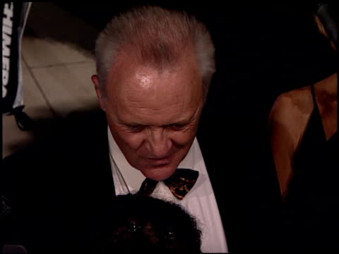 Anthony Hopkins at the 2001 Academy Awards Vanity Fair Party at the Shrine Auditorium in Los Angeles California on March 25 2001