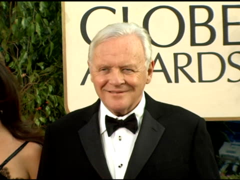 Anthony Hopkins at the 2006 Golden Globe Awards Arrivals at the Beverly Hilton in Beverly Hills California on January 16 2006