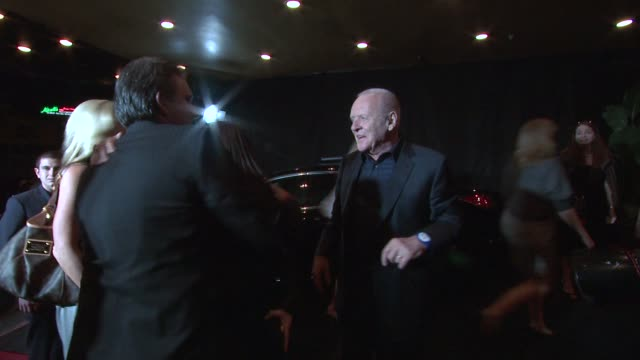 Anthony Hopkins at the Acura Presents 'Thor' Premiere After Party at Hollywood CA