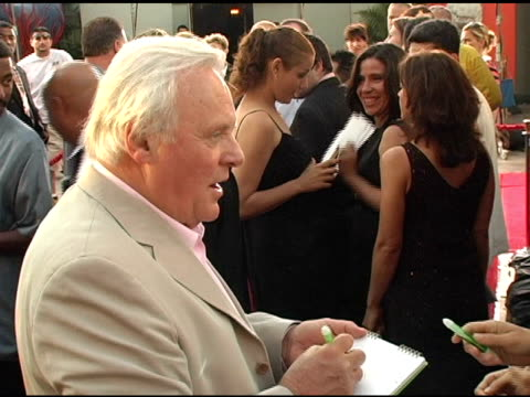 Anthony Hopkins at the Fan Screening of 'War of the Worlds' at Grauman's Chinese Theatre in Hollywood California on June 27 2005