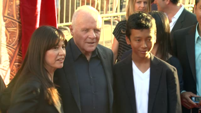 Anthony Hopkins at the 'Thor' Premiere at Hollywood CA