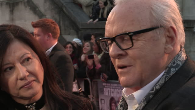 Anthony Hopkins on playing his character at 'Hitchcock' UK Premiere at BFI Southbank on December 09 2012 in London England