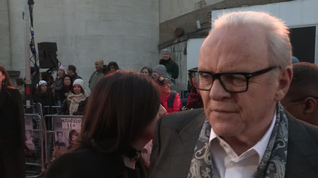 Anthony Hopkins on the plot on his favorite Hitchcock movie and on what he learnt from acting in the movie at 'Hitchcock' UK Premiere at BFI...