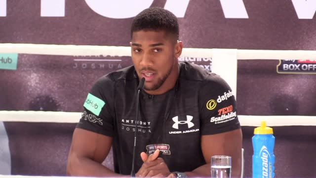 anthony joshua believes that even victory over wladimir klitschko will not earn him widespread recognition as the world's leading heavyweight with... - anthony joshua boxer stock videos & royalty-free footage