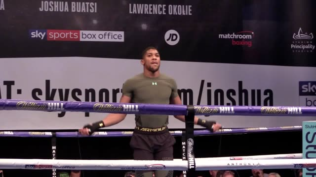 Anthony Joshua is prepared to go to 'war' once again for his adoring public when he defends his WBA and IBF heavyweight titles against Carlos Takam...