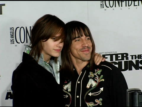 Anthony Kiedis at the 'After The Sunset' Premiere at Grauman's Chinese Theatre in Hollywood California on November 4 2004