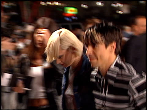 Anthony Kiedis at the 'Blow' Premiere at Grauman's Chinese Theatre in Hollywood California on March 29 2001