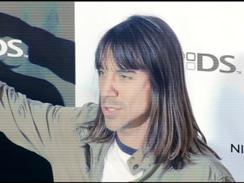 Anthony Kiedis at the Exclusive Nintendo DS PreLaunch Party at The Day After at the Day After in Los Angeles California on November 16 2004