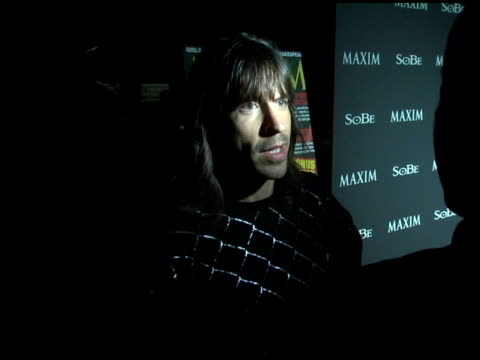 Anthony Kiedis at the 'Tale Slide' in Celebration of 2004 XGames Arrivals Hosted By Maxim and Sobe at Jim Henson Studios Chaplin Stage in Hollywood...