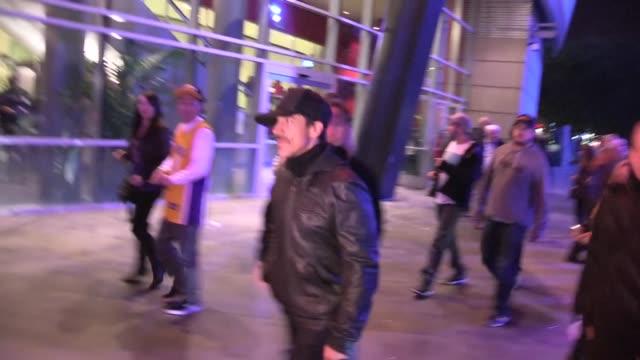 Anthony Kiedis departs Staples Center in Los Angeles 01/04/13