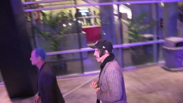Anthony Kiedis Flea depart Staples Center in Los Angeles 03/23/12 Anthony Kiedis Flea depart Staples Center in Los on March 25 2012 in Los Angeles...