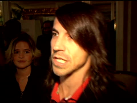 Anthony Kiedis on why he supports the Kayne Eras center and roasting as a way to raise money at the Fifth Annual Tom Arnold Celebrity Roast Honoring...