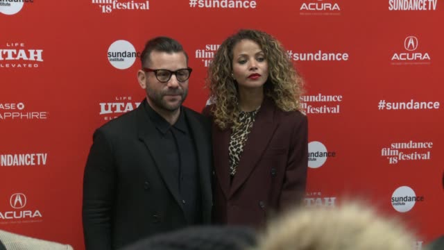 Anthony Mandler and Denise Vasi at the 'Monster' World Premiere 2018 Sundance Film Festival at Eccles Center Theatre on January 22 2018 in Park City...
