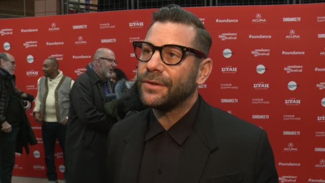 INTERVIEW Anthony Mandler on the importance of the topic of 'monster' in current society at the 'Monster' World Premiere 2018 Sundance Film Festival...