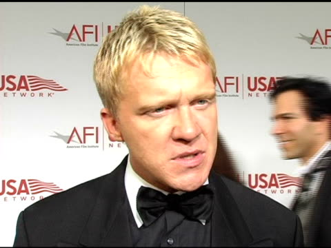 vídeos de stock, filmes e b-roll de anthony michael hall says lucas is a maverick and has had a great influence over the industry without lucas there would be no spielberg at the 33rd... - anthony michael hall