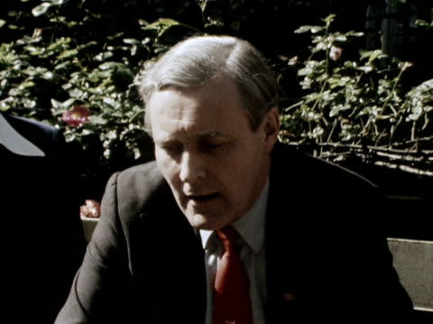 anti marketeer tony benn talks about the result of the eec referendum - 1975 stock videos & royalty-free footage