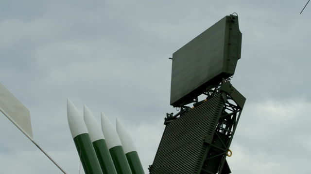 anti-aircraft missile on duty - radar stock videos and b-roll footage