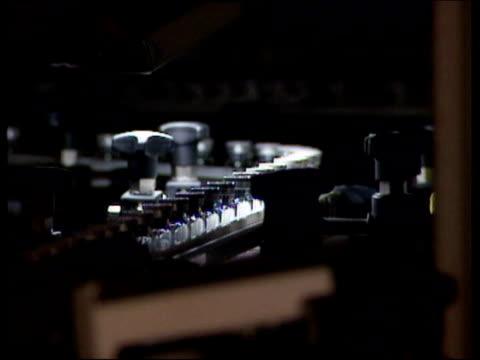 mrsa antibiotics travel through factory - mrsa stock videos and b-roll footage