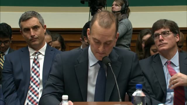 vídeos de stock, filmes e b-roll de us antidoping chief executive travis tygart tells members of the house energy and commerce committee at a hearing on doping in athletics that we are... - rio russian