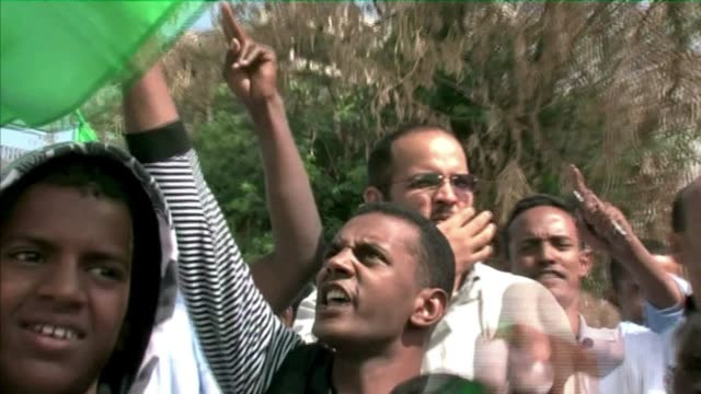 anti-government protests are growing in mauritania's capital nouakchott, calling for the ouster of president mohamed ould abdel aziz. nouakchott,... - nouakchott stock videos & royalty-free footage