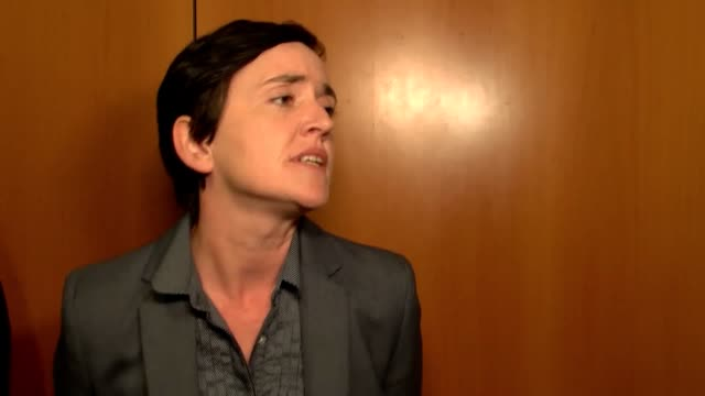 AntiIslam campaigner Anne Marie Waters answers questions from the media on extremism and says 'political labels are inappropriate'
