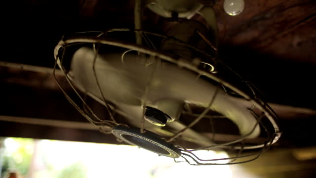 antique ceiling fans - orbiting stock videos and b-roll footage
