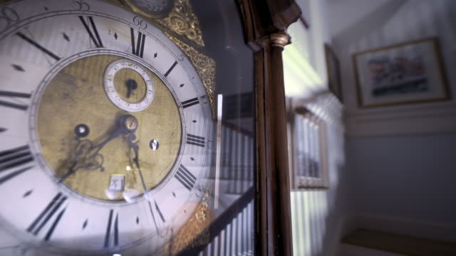 antique clock time lapse - image manipulation stock videos and b-roll footage