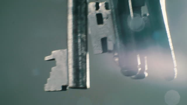 antique skeleton keys - locking stock videos & royalty-free footage