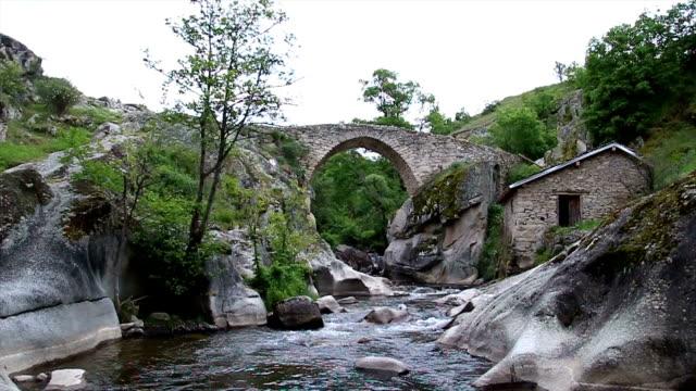 antique stone bridge - analog stock videos and b-roll footage