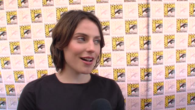 Antje Traue on the movie at the ComicCon 2009 'Pandorum' Press Line at San Diego CA