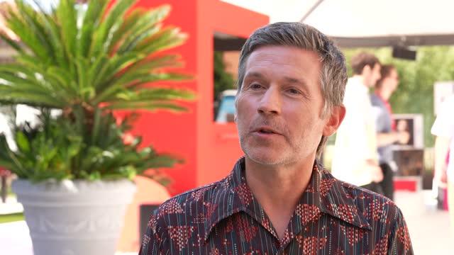 "ITA: ""Madeleine Collins"" - Interviews - The 78th Venice International Film Festival"