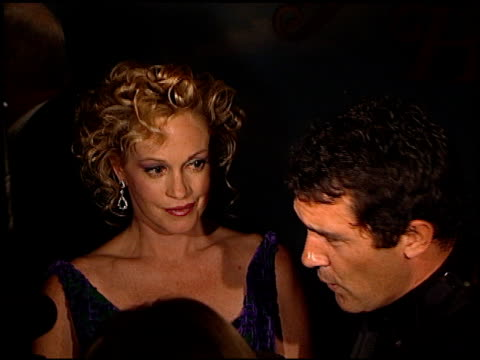 Antonio Banderas at the 1998 Carousel of Hope Ball at the Beverly Hilton in Beverly Hills California on October 23 1998