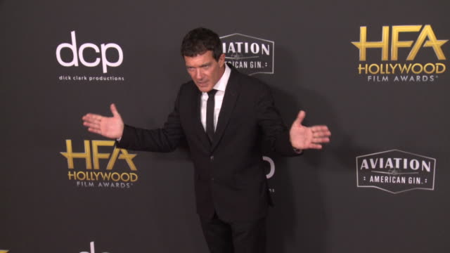 antonio banderas at the 23rd annual hollywood film awards at the beverly hilton hotel on november 03 2019 in beverly hills california - antonio banderas stock videos & royalty-free footage