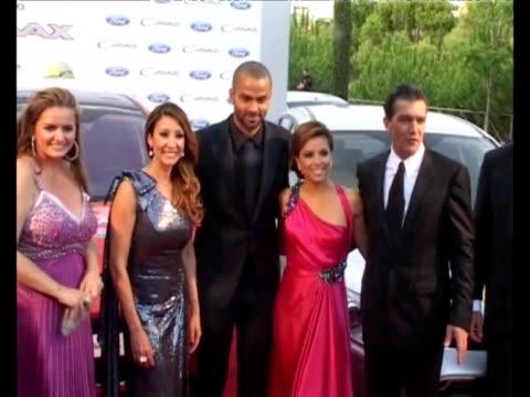 Antonio Banderas Melannie Griffith Eva Longoria Tony Parker Maria Bravo and more attend Starlite Gala at Padierna Hotel Marbella Spain Celebrities...
