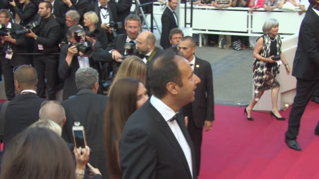 Antonio Banderas Nicole Kempel Irina Shayk Petra Nemcova Xavier Dolan at 'Sicario' Red Carpet on May 19 2015 in Cannes France