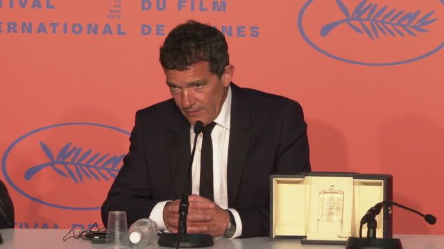 INTERVIEW Antonio Banderas on winning the award in Cannes Cannes being the biggest movie festival in the world his performance never winning awards...